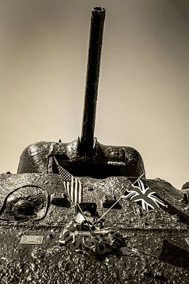 Sherman M4a1 Poster by Chris Smith