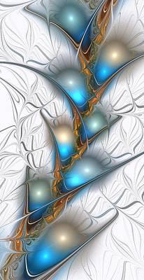 Shimmering Lights Poster by Anastasiya Malakhova
