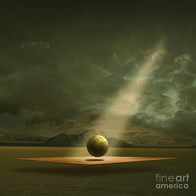 Shining Poster by Franziskus Pfleghart