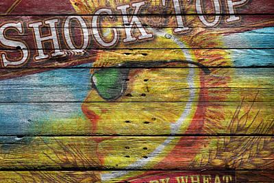 Shock Top Poster by Joe Hamilton