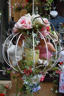 Shops - Piazza Palio - Khaoyai Thailand - 01134 Poster by DC Photographer