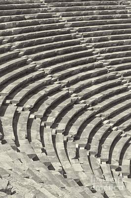 Side Amphitheatre 01 Poster by Antony McAulay