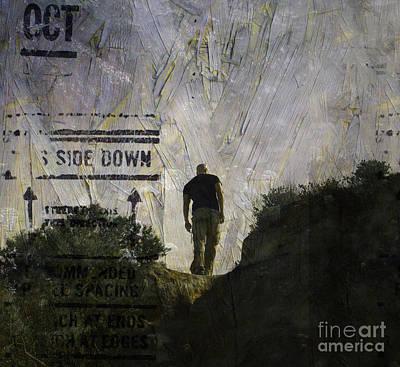 Side Down Poster by Tara Turner