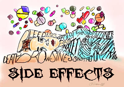 Side Effects Poster by LaShanna  Cooper