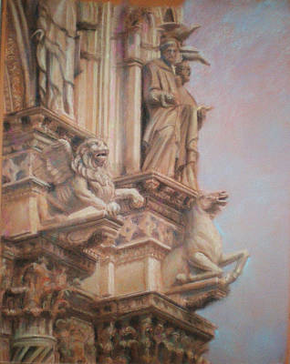 Siena Cathedral Poster by Paez  Antonio