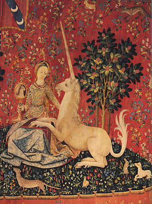 Sight The Lady With The Unicorn Poster by Unknown