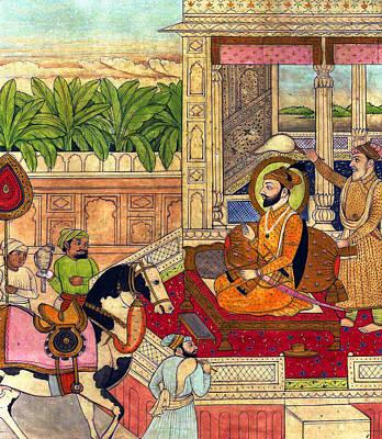 Sikh Guru Poster by Munir Alawi