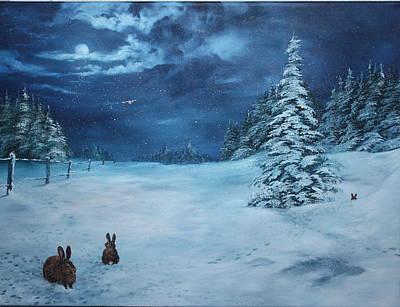 Silent Night Poster by Jean Walker