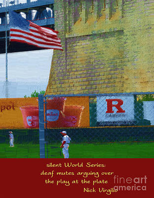 Silent World Series Poster by Rick Black