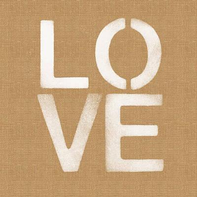 Simple Love Poster by Linda Woods
