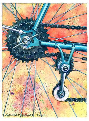 Cyclo Standard Poster by George Evans