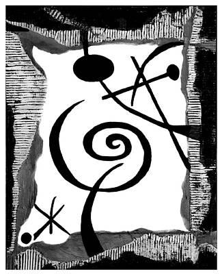 Simply Black And White Poster by Alexandra Jordankova
