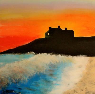 Singing Beach Poster by Mark Prescott Crannell