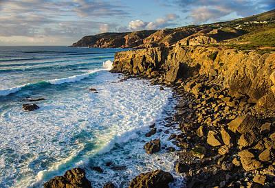 Sintra Coastline Poster by Carlos Caetano
