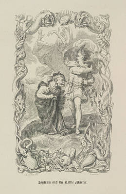 Sintram And The Little Master Poster by British Library