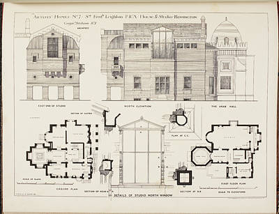 Sir Frederick Leighton's House Poster by British Library