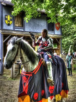 Sir Lancelot Du Lac - V2 Poster by John Straton
