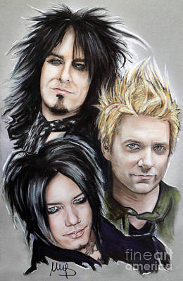 Sixx Am Poster by Melanie D