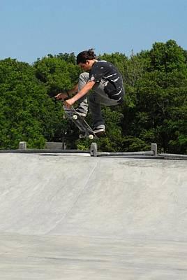 Skateboarding 10 Poster by Joyce StJames