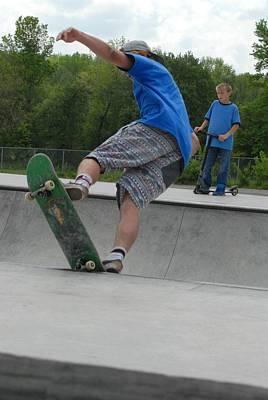 Skateboarding 11 Poster by Joyce StJames