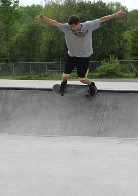 Skateboarding 13 Poster by Joyce StJames