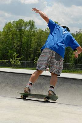 Skateboarding 15 Poster by Joyce StJames