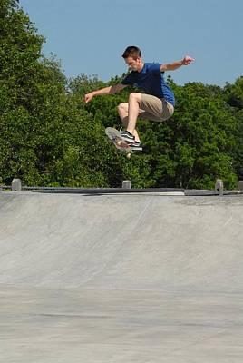 Skateboarding 6 Poster by Joyce StJames