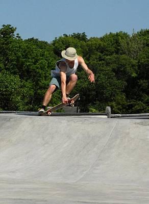 Skateboarding 7 Poster by Joyce StJames