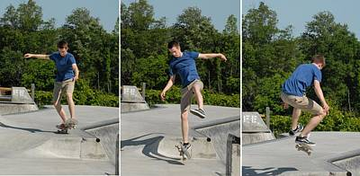 Skateboarding 8 Poster by Joyce StJames