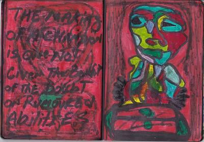 Sketchbook Image 3 Poster by Darrell Black