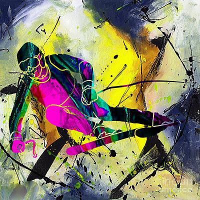 Ski Poster by Marvin Blaine
