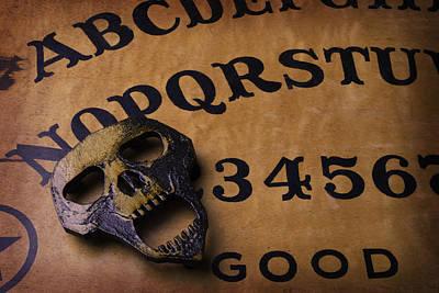 Skull Planchette Poster by Garry Gay