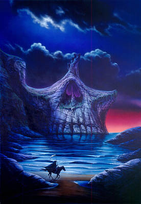 Skull Point Poster by Garry Walton