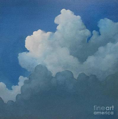Sky Art Poster by Cynthia Vaught