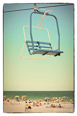 Sky Blue - Sky Ride Poster by Colleen Kammerer