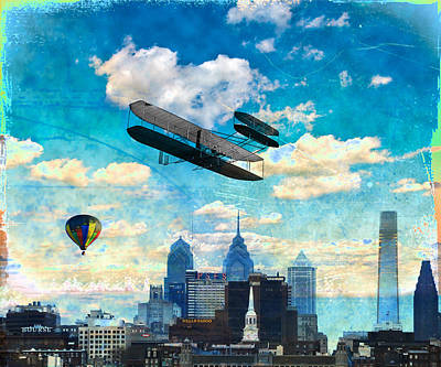 Sky Is The Limit Poster by Bill Cannon