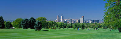 Skyline In Daylight, Denver, Colorado Poster by Panoramic Images