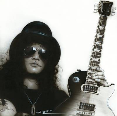 ' Slash ' Poster by Christian Chapman Art