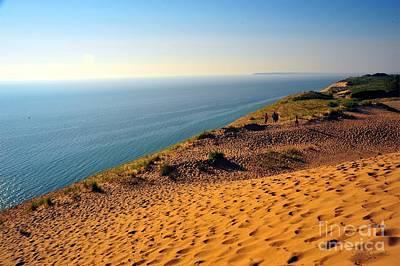 Sleeping Bear Sand Dunes National Lakeshore Poster by Terri Gostola