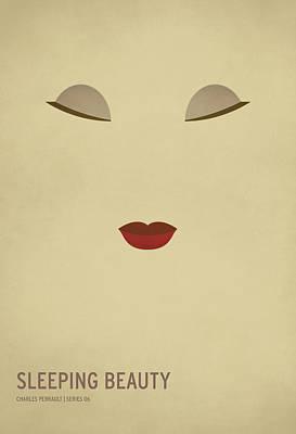 Sleeping Beauty Poster by Christian Jackson
