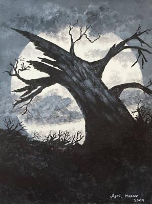 Sleepy Hollow Poster by April Moran