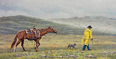 Slicker Weather Poster by Paul Krapf