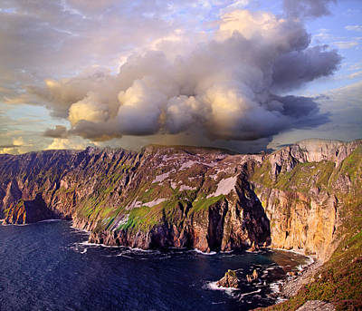 Slieve League Poster by Betsy Knapp