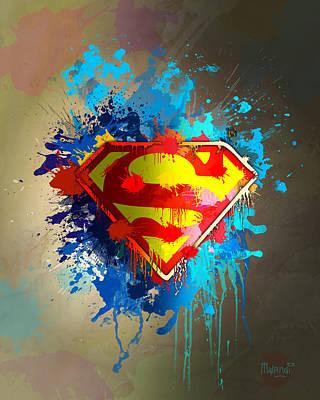 Smallville Poster by Anthony Mwangi