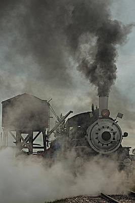 Smokin Engine 353 Poster by Paul Freidlund