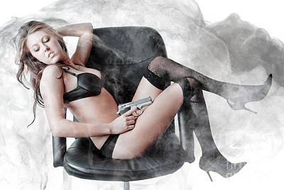 Smoking Gun Poster by Jt PhotoDesign