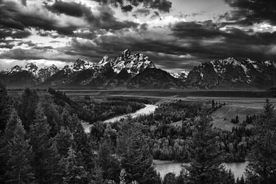 Snake River And The Tetons Poster by Andrew Soundarajan