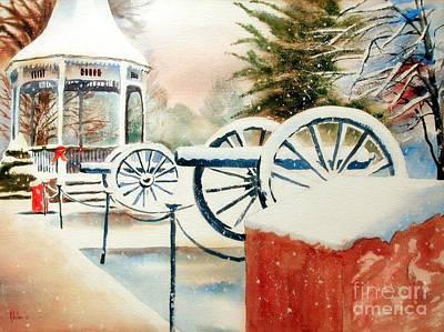 Snow II Poster by Kip DeVore