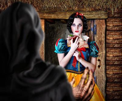 Snow White Poster by Alessandro Della Pietra