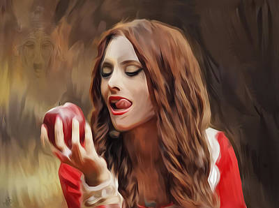Snow White Poster by Hazel Billingsley